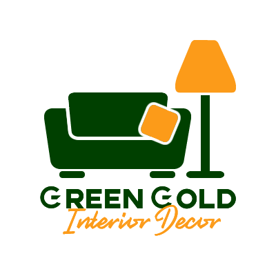 Green Gold  Interior Decor